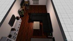 Raumgestaltung Ecksofa Raum in der Kategorie Hobbyraum