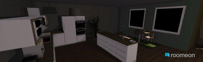 Raumgestaltung family+dining rooms+kitchen in der Kategorie Hobbyraum