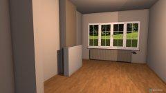 Raumgestaltung Floorplan Living in der Kategorie Hobbyraum