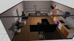 Raumgestaltung Food & Recovery Lounge in der Kategorie Hobbyraum