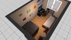 Raumgestaltung Gästeraum in der Kategorie Hobbyraum