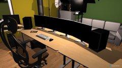Raumgestaltung Gamer TYber Raum in der Kategorie Hobbyraum