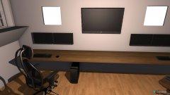 Raumgestaltung gamingroom in der Kategorie Hobbyraum