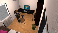 Raumgestaltung Gamingzimmer in der Kategorie Hobbyraum