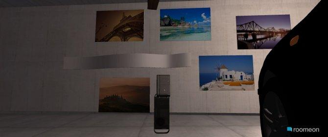 Raumgestaltung garage in der Kategorie Hobbyraum