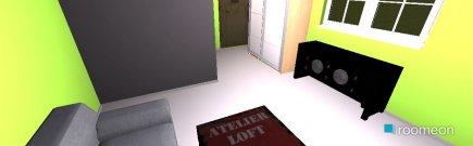 Raumgestaltung Gastzimmer 1 in der Kategorie Hobbyraum
