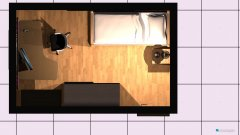 Raumgestaltung Gastzimmer in der Kategorie Hobbyraum