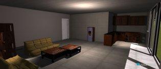 Raumgestaltung Gizella in der Kategorie Hobbyraum