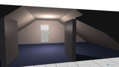 Raumgestaltung Grundriß für Heimkino in der Kategorie Hobbyraum