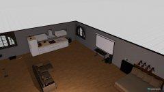 Raumgestaltung Grundrissvorlage Erker in der Kategorie Hobbyraum