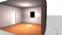 Raumgestaltung Grundrissvorlage Küche in der Kategorie Hobbyraum