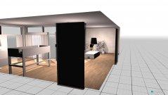 Raumgestaltung Grundrissvorlage Loft-Raum in der Kategorie Hobbyraum