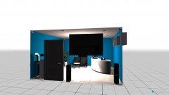 Raumgestaltung Grundrissvorlage Partyraum in der Kategorie Hobbyraum