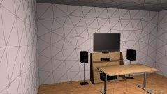 Raumgestaltung Grundrissvorlage Quadrat in der Kategorie Hobbyraum
