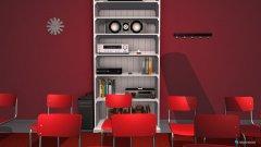 Raumgestaltung Heimkino Vorlage in der Kategorie Hobbyraum