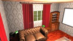 Raumgestaltung Herrenzimmer 100117 in der Kategorie Hobbyraum
