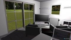 Raumgestaltung Herrenzimmer in der Kategorie Hobbyraum