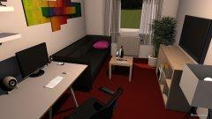 Raumgestaltung Hobbyzimmer in der Kategorie Hobbyraum