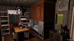Raumgestaltung Holzhaus in der Kategorie Hobbyraum