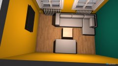 Raumgestaltung JuWa Lounge in der Kategorie Hobbyraum