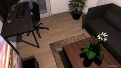 Raumgestaltung Kaki Gästezimmer in der Kategorie Hobbyraum