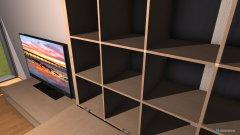 Raumgestaltung Keller-Hobbyraum Groß in der Kategorie Hobbyraum