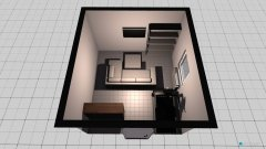 Raumgestaltung Keller Idee, Sofa mittig in der Kategorie Hobbyraum