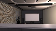 Raumgestaltung Keller Kino Bar Entwurf in der Kategorie Hobbyraum
