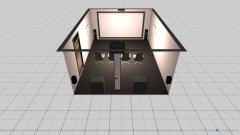 Raumgestaltung Kino Raum in der Kategorie Hobbyraum