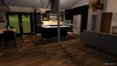 Raumgestaltung Kitchen&living in der Kategorie Hobbyraum