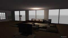 Raumgestaltung Large Modern Family Room in der Kategorie Hobbyraum