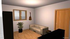 Raumgestaltung Lisis Gäste und Musikzimmer in der Kategorie Hobbyraum
