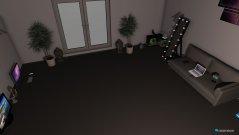 Raumgestaltung living room1 in der Kategorie Hobbyraum
