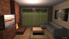 Raumgestaltung LivingRoom in der Kategorie Hobbyraum