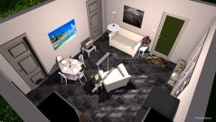 Raumgestaltung livingroomcottage2 in der Kategorie Hobbyraum