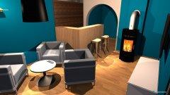 Raumgestaltung London Room in der Kategorie Hobbyraum