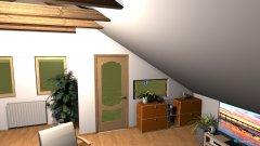 Raumgestaltung Mansarda 3 in der Kategorie Hobbyraum