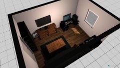 Raumgestaltung Medienzimmer in der Kategorie Hobbyraum