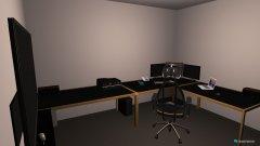 Raumgestaltung Mein Computerraum in der Kategorie Hobbyraum