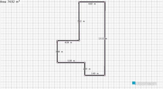 Raumgestaltung Minha Casa in der Kategorie Hobbyraum