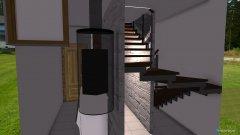 Raumgestaltung Mosókonyha-lépcsőház in der Kategorie Hobbyraum
