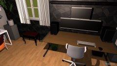 Raumgestaltung multiroom in der Kategorie Hobbyraum