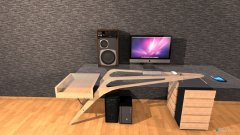 Raumgestaltung Musik und Freizeitzimmer in der Kategorie Hobbyraum