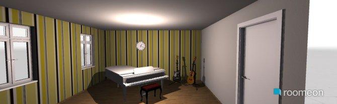 Raumgestaltung musikzimmer in der Kategorie Hobbyraum