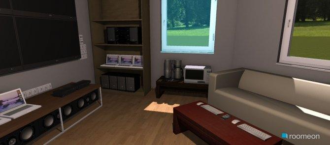 Raumgestaltung Nerdbude in der Kategorie Hobbyraum