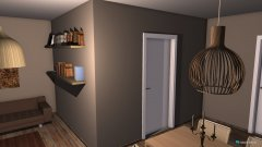 Raumgestaltung nieuwe huiskamer in der Kategorie Hobbyraum