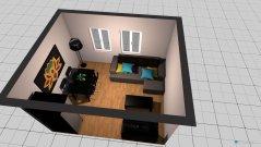 Raumgestaltung Nuevo salon-comedor in der Kategorie Hobbyraum