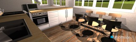 Raumgestaltung open plan kitchen,diner living room!!! in der Kategorie Hobbyraum