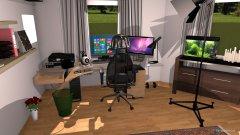 Raumgestaltung PC-raum in der Kategorie Hobbyraum
