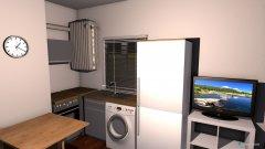 Raumgestaltung Piso Pradillo 10 - Salon Cocina in der Kategorie Hobbyraum